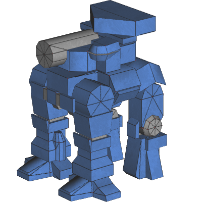 Thunder Stallion: mapping terminé dans 2 - Textures ThunderStallion_mapped